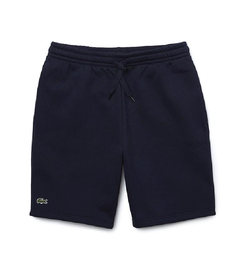 Comprar Lacoste Pantaloncini da tennis sportivi in peluche blu scuro