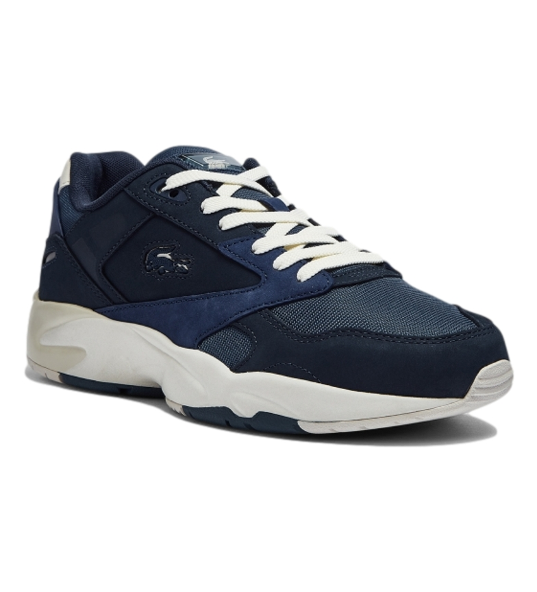 Comprar Lacoste Tempestade 96 LO 0721 1 G SMA tênis de couro da marinha, azul