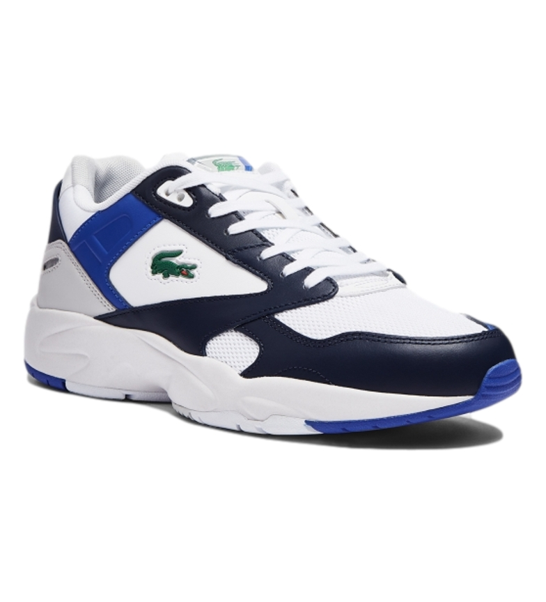 Comprar Lacoste Storm 96 LO 0721 1 SMA leather sneakers white, navy