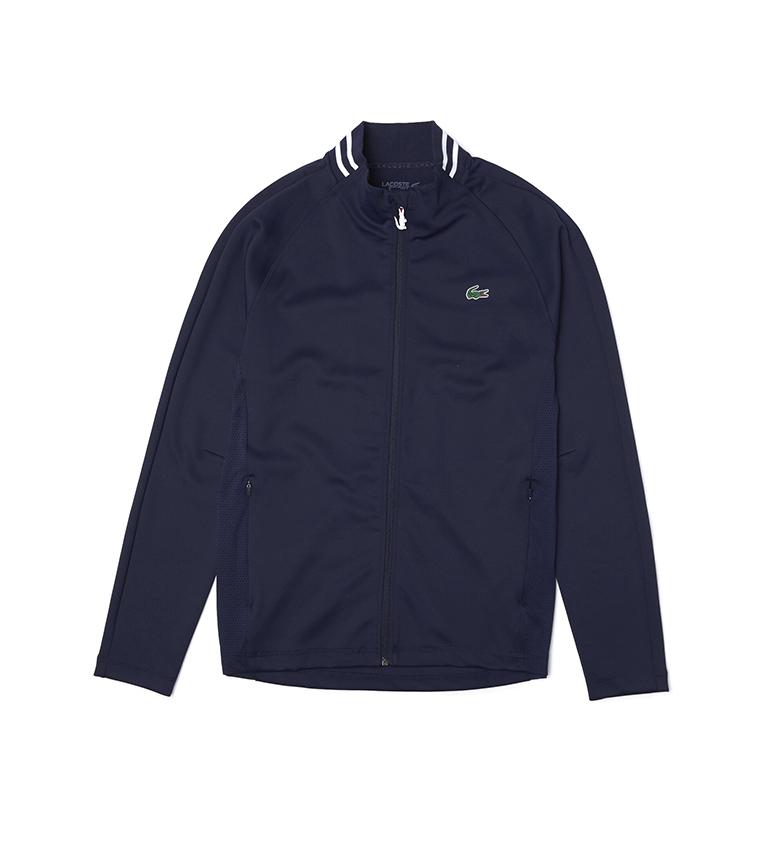 Comprar Lacoste Lacoste SPORT Golf Sweatshirt in Ergonomic Stretch Fabric with Marine Zip