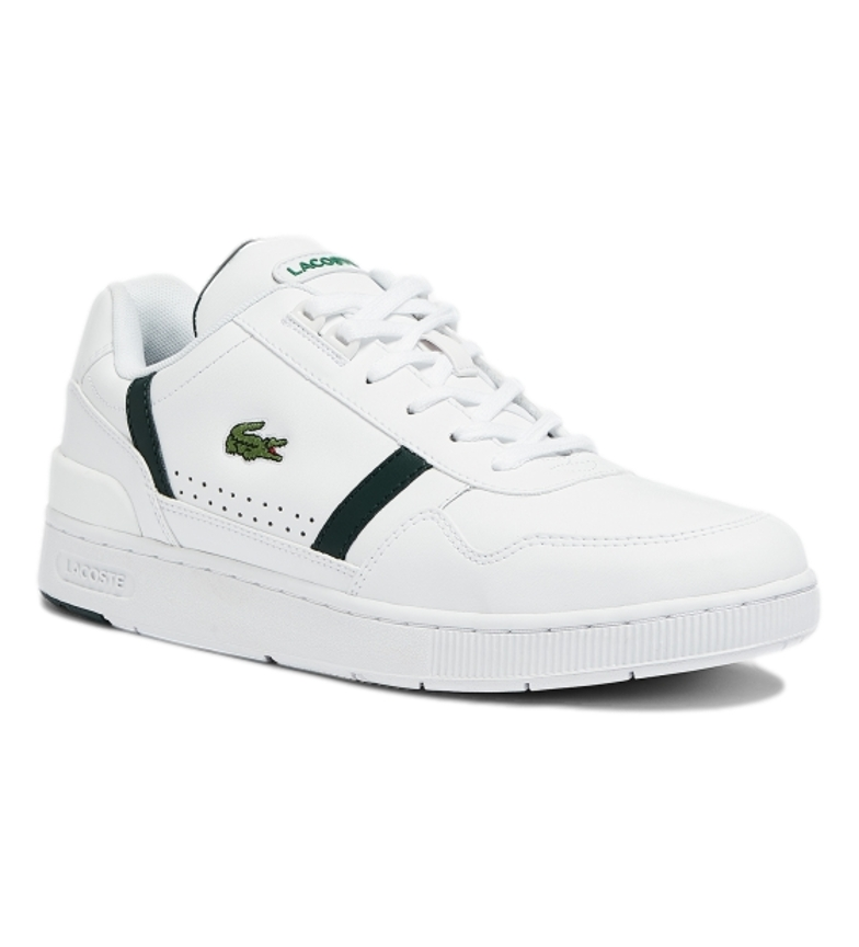 Comprar Lacoste Leather sneakers T-Clip 0721 2 SMA white, green