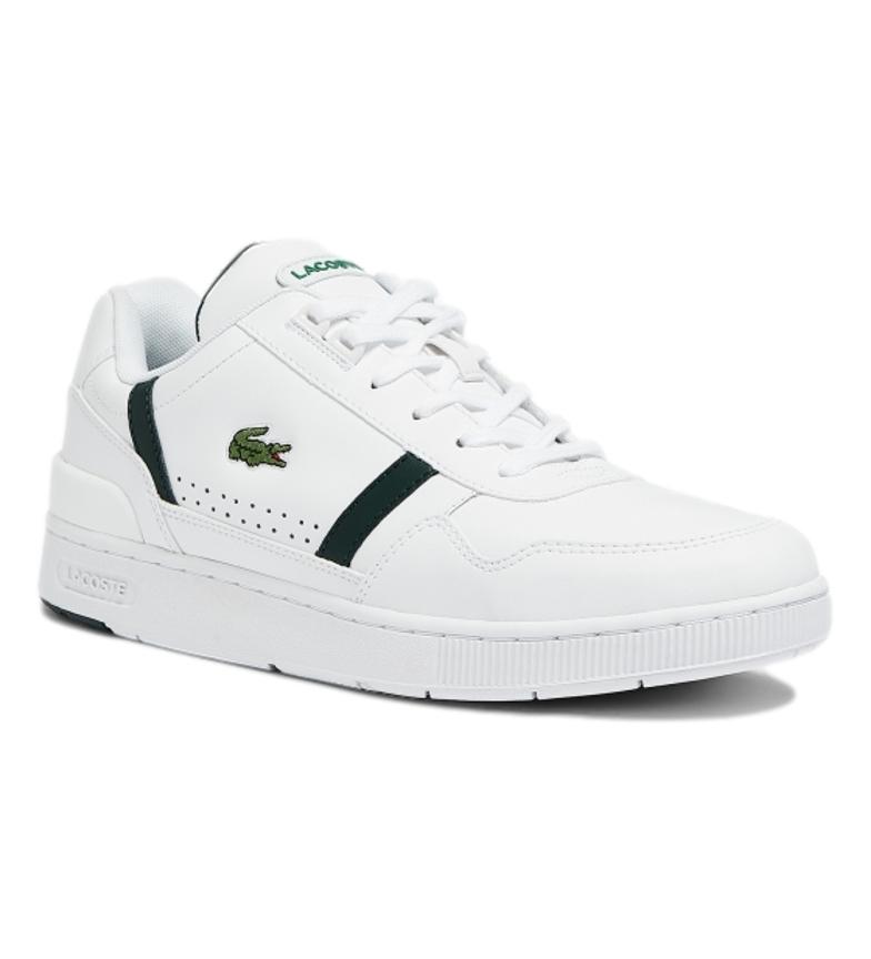 Comprar Lacoste Sapatilhas de couro T-Clip 0721 2 SMA branco, verde