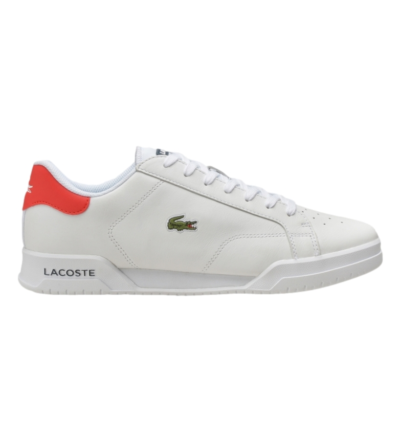 Comprar Lacoste Twin Serve 0721 1 SMA leather slippers white, navy, red