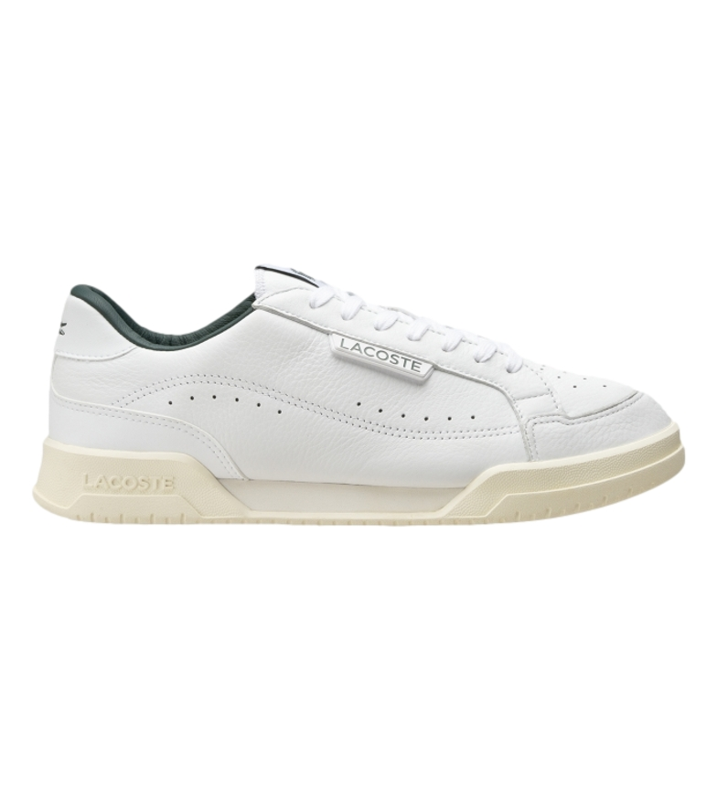 Comprar Lacoste Sneakers Twin Serve Luxe 07211 SMA in pelle bianca, verde