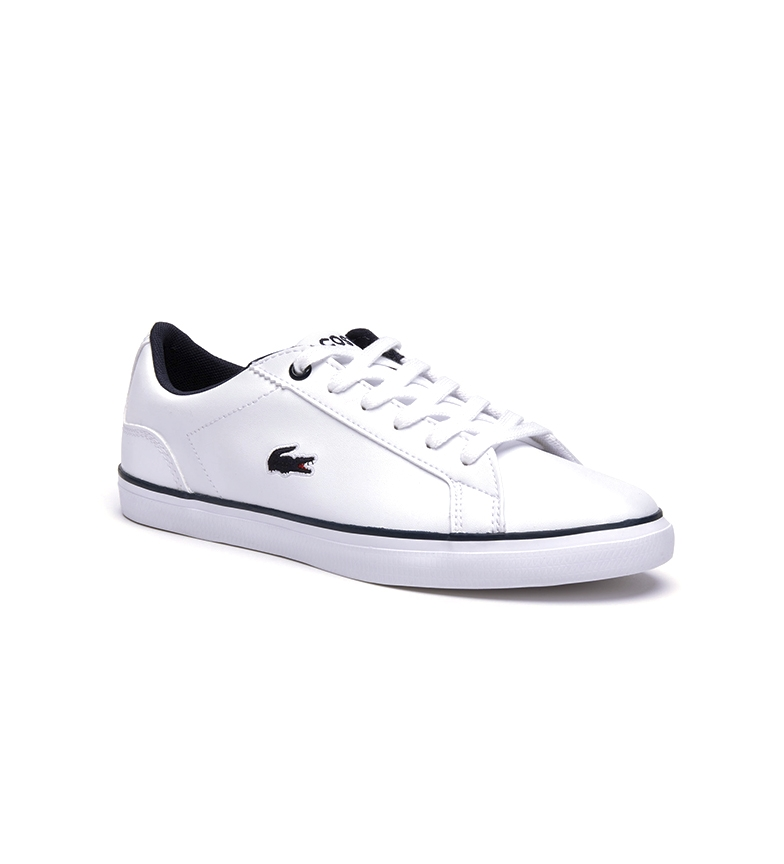 Comprar Lacoste Lerond sneakers white, navy