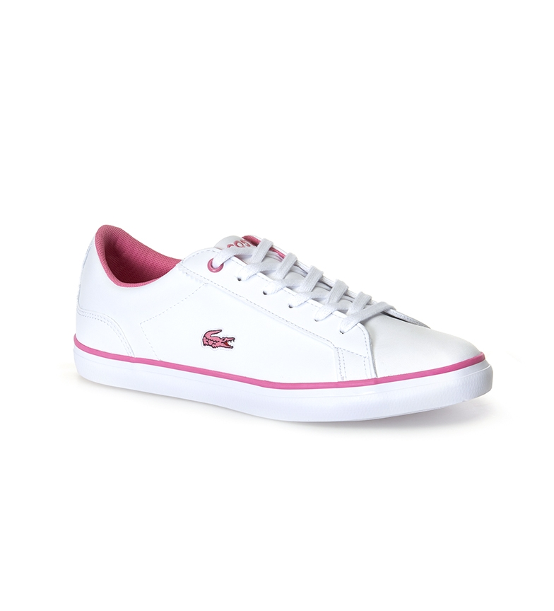 Comprar Lacoste Lerond shoes white, pink