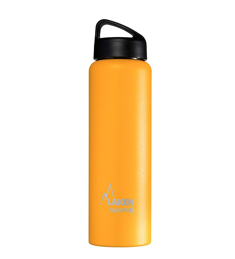 Comprar Laken Botella térmica Classic insulada de acero inoxidable amarillo -1L / 504g-
