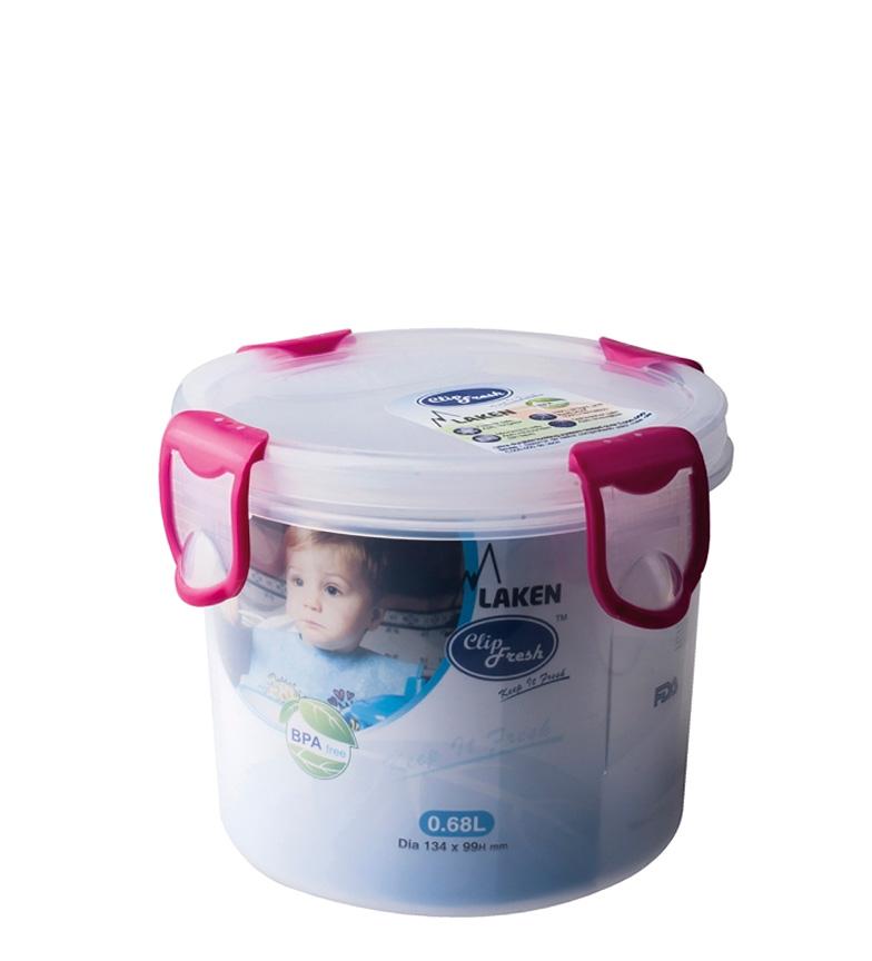 Comprar Laken Fiambrera Clip Fresh rosa -0,68L / 112g-