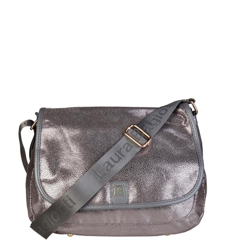 Comprar Laura Biagiotti Bandolera LB17W100-38 gris -32x22x10cm-