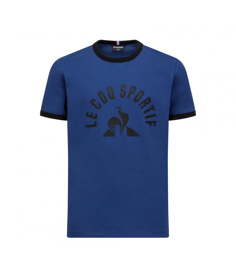 Le Coq Sportif T-shirt Enfant N°4 bleu