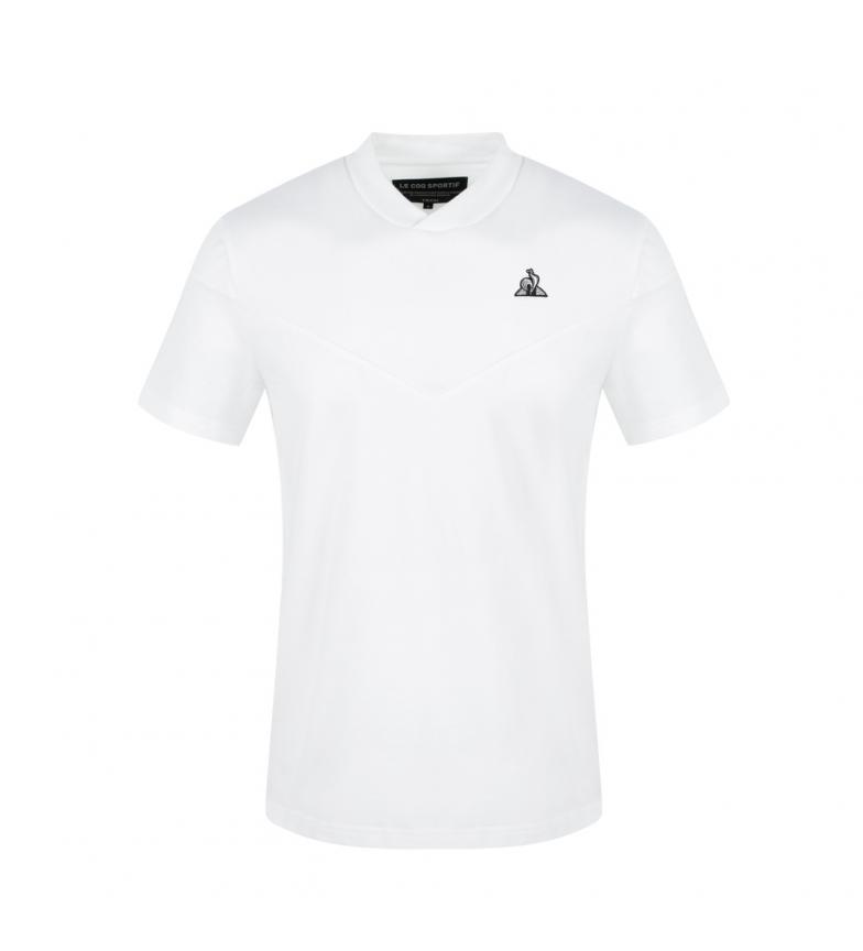 Le Coq Sportif TECH SS N°1 T-shirt bianca