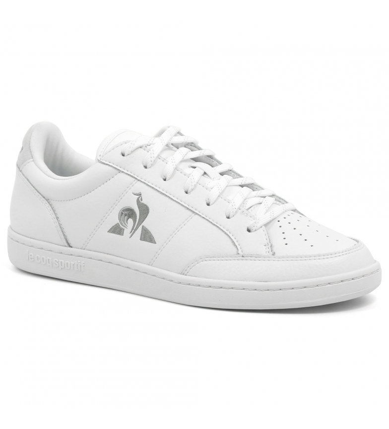 Le Coq Sportif Court Clay white leather sneakers