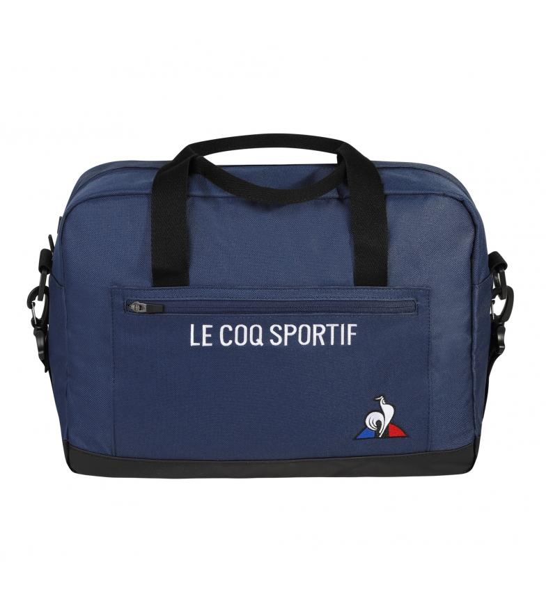 Le Coq Sportif Porta-documentos Essentiels marinho -29x40x15cm