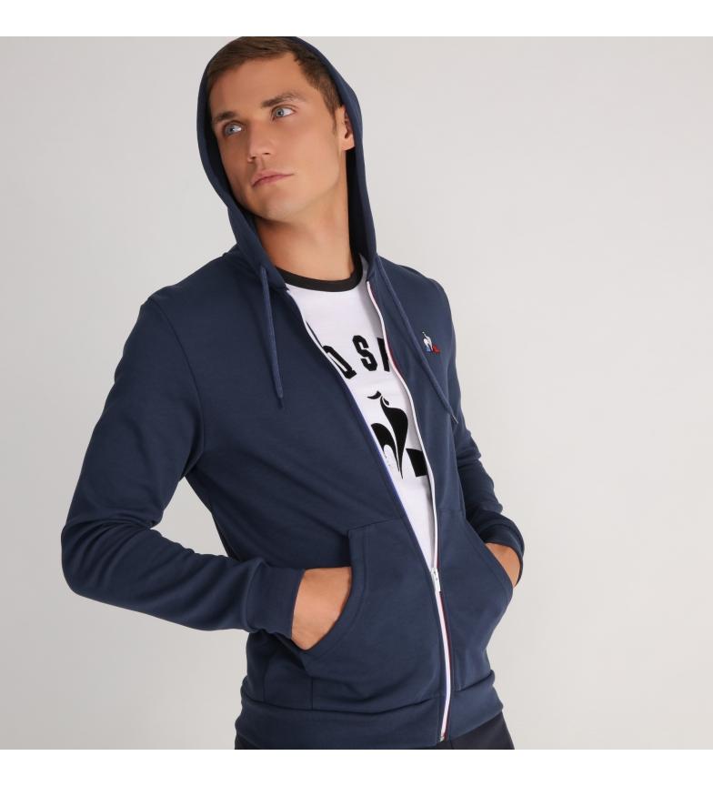 Comprar Le Coq Sportif Essentiels marine hoodie with zip
