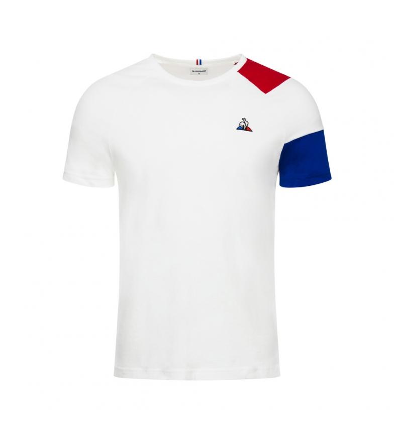 Comprar Le Coq Sportif Camiseta Essentiels blanco