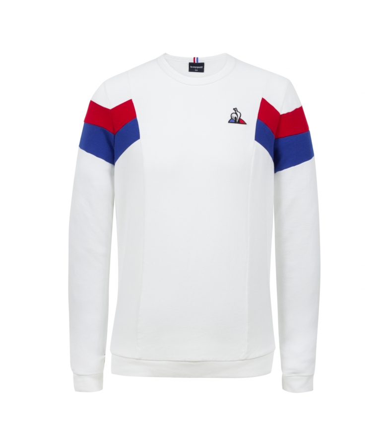 Le Coq Sportif Sweat-shirt TRI Crew Sweat N°1 blanc