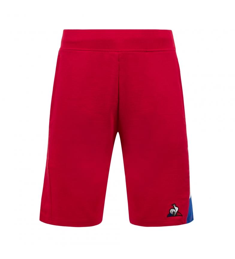 Le Coq Sportif Short TRI Regular N°1 rouge