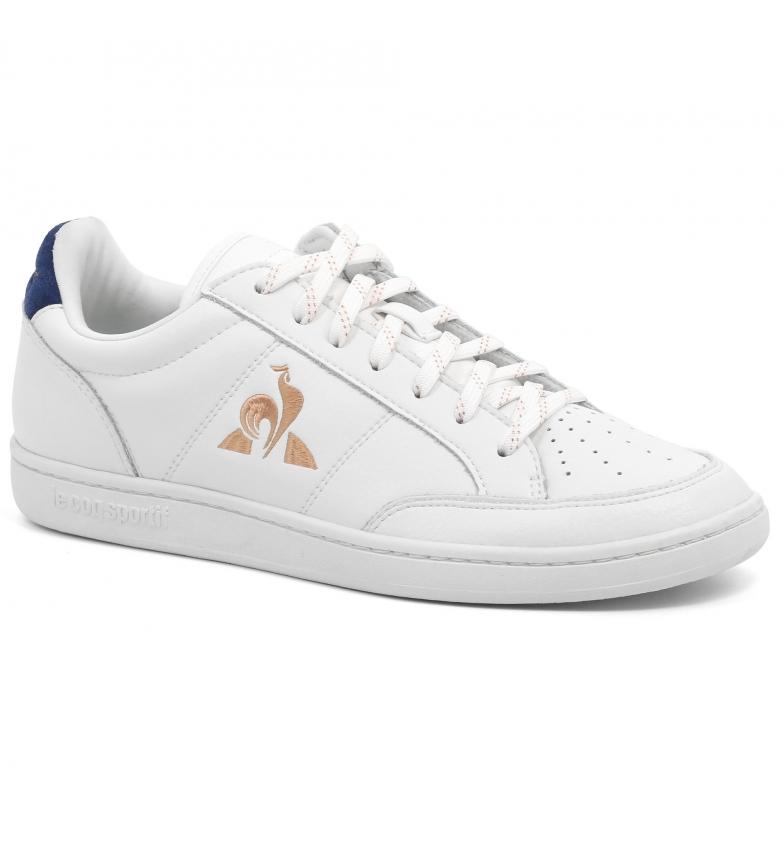 Comprar Le Coq Sportif Court Clay tênis de couro branco