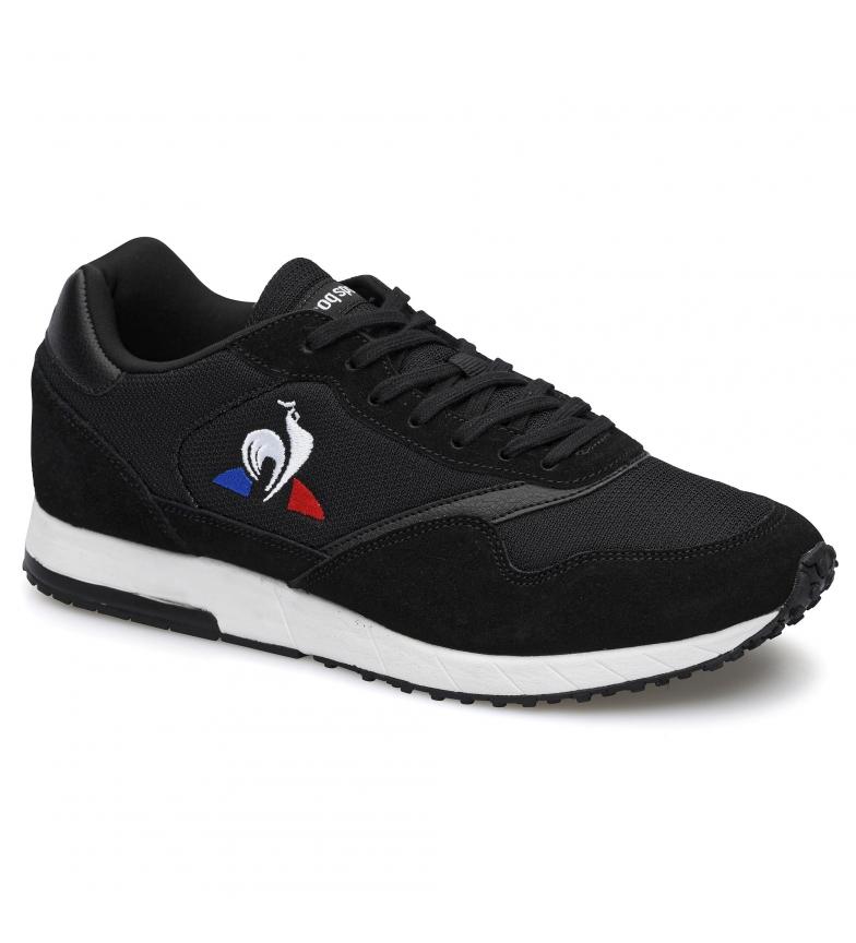 Le Coq Sportif JAZY black leather sneakers
