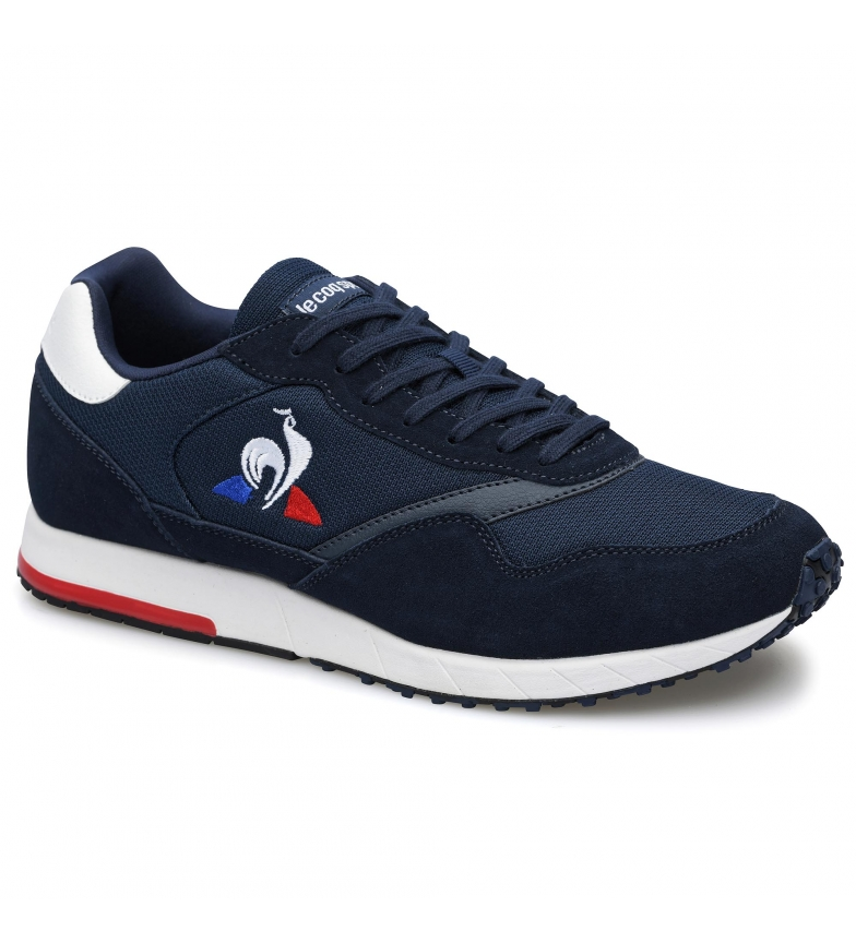 Le Coq Sportif JAZY navy leather sneakers