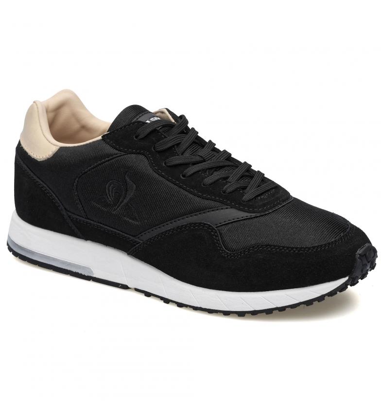 Le Coq Sportif JAZY W black leather sneakers