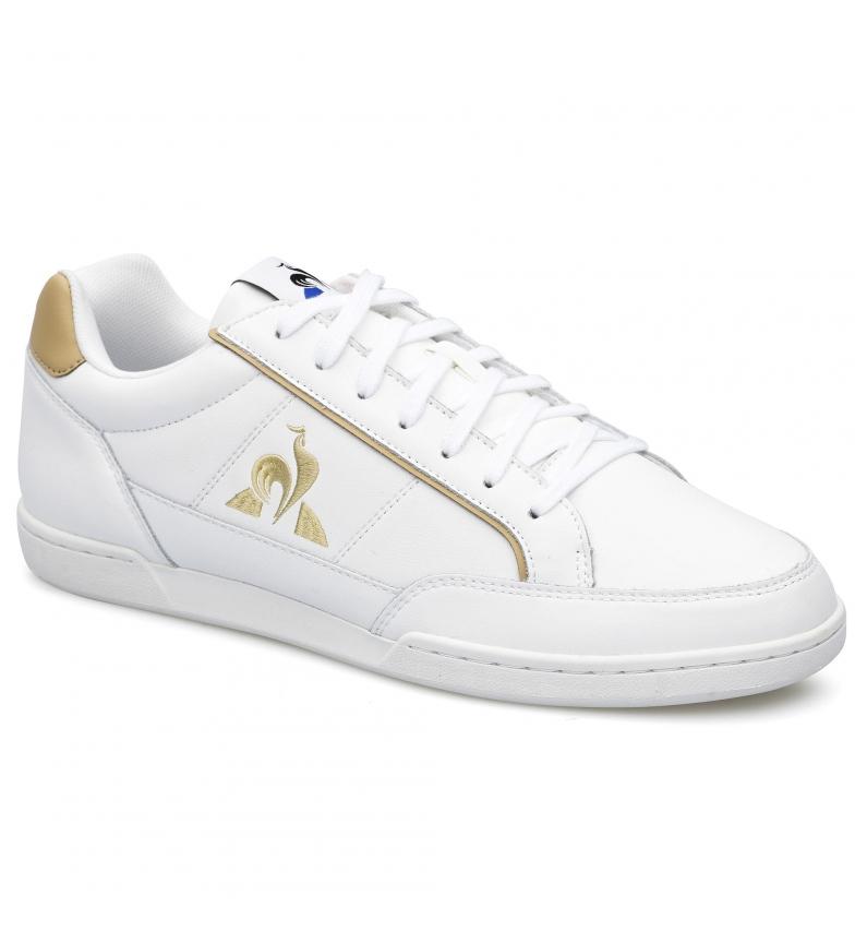 Comprar Le Coq Sportif Baskets en cuir TOURNAMENT blanc, marron