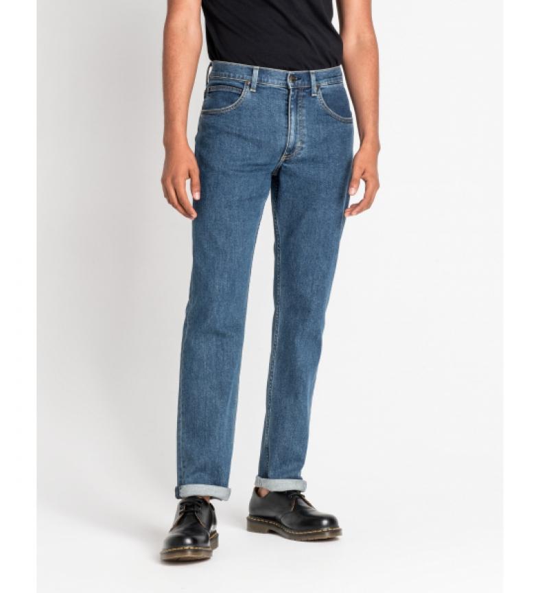Comprar Lee Jeans Brooklin Straight Mid Stonewash azul