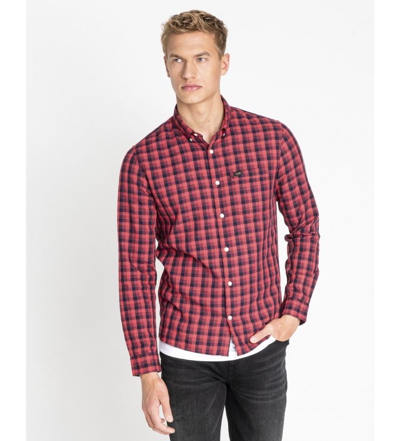 Comprar Lee Camisa Slim Button Down rojo