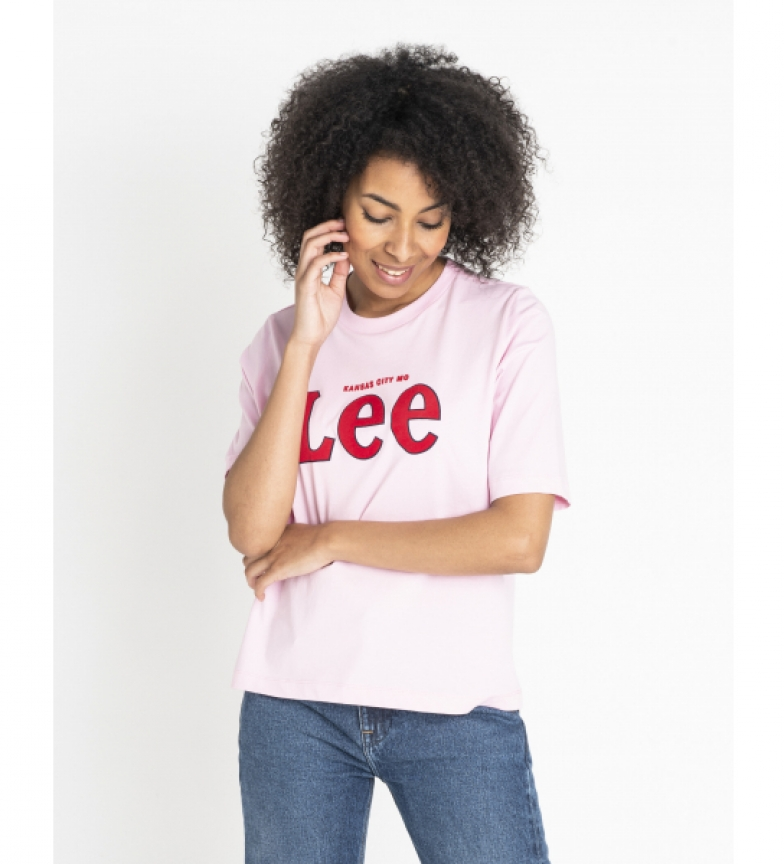 Comprar Lee Camiseta Lee Tee Frost rosa