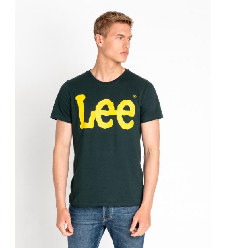 Comprar Lee Camiseta Logo Off verde