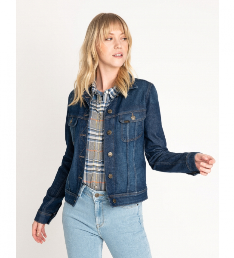 Comprar Lee Slim Rider jacket blue