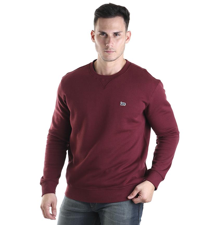 Comprar Lee Crew SWS sweatshirt burgundy