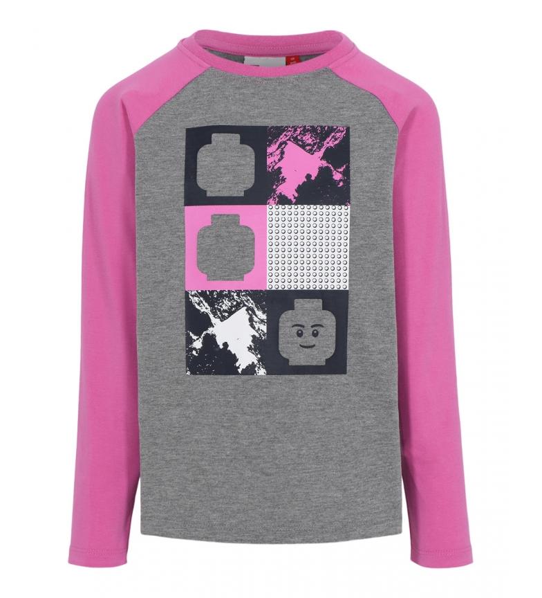 Comprar LegoWear T-shirt à manches longues rose et gris