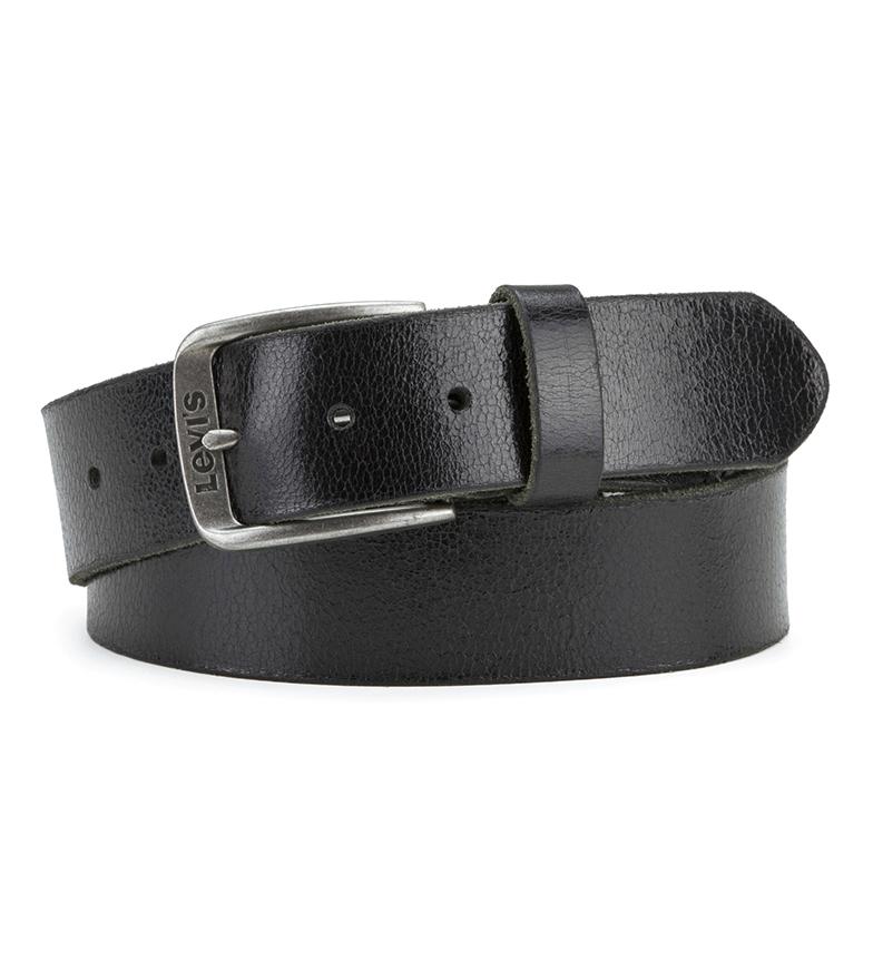 Comprar Levi's Leather belt Heights black