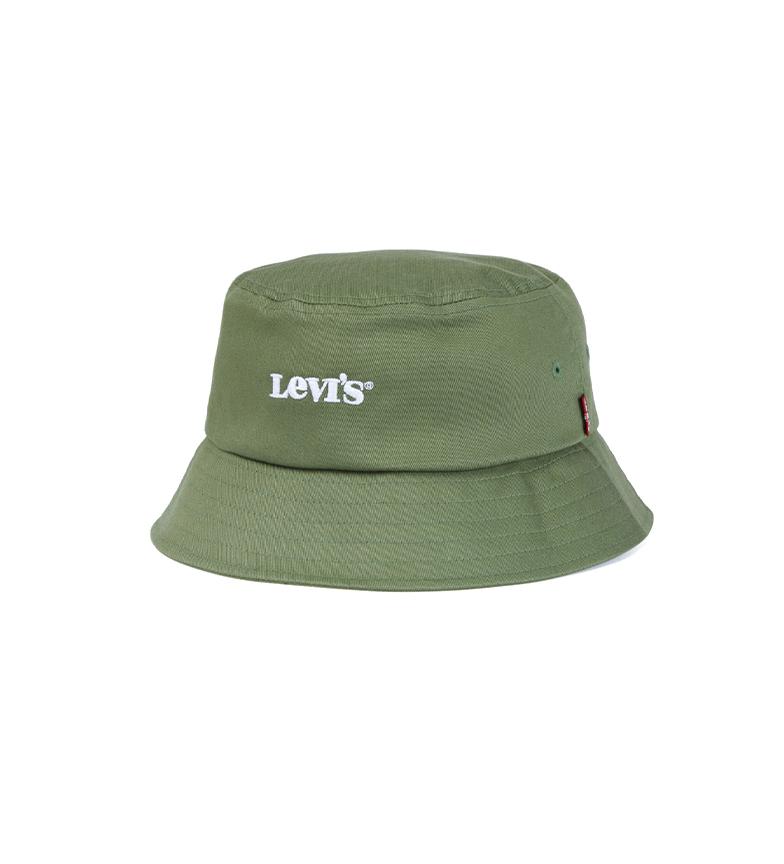 Comprar Levi's Cappello da pescatore vintage moderno con logo verde