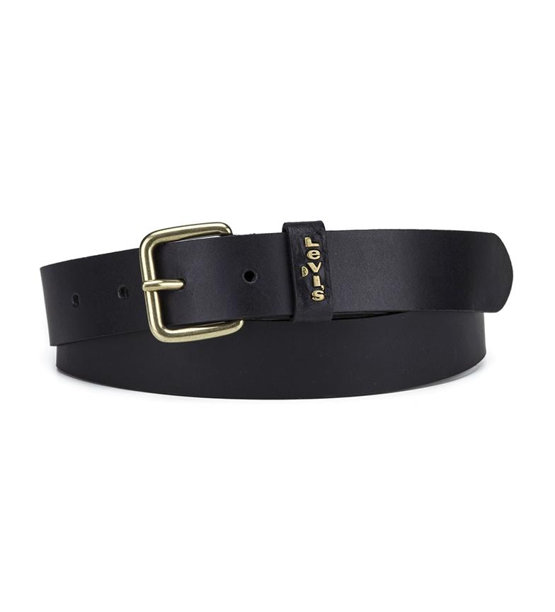 Comprar Levi's Cinturón de piel Caplypso negro