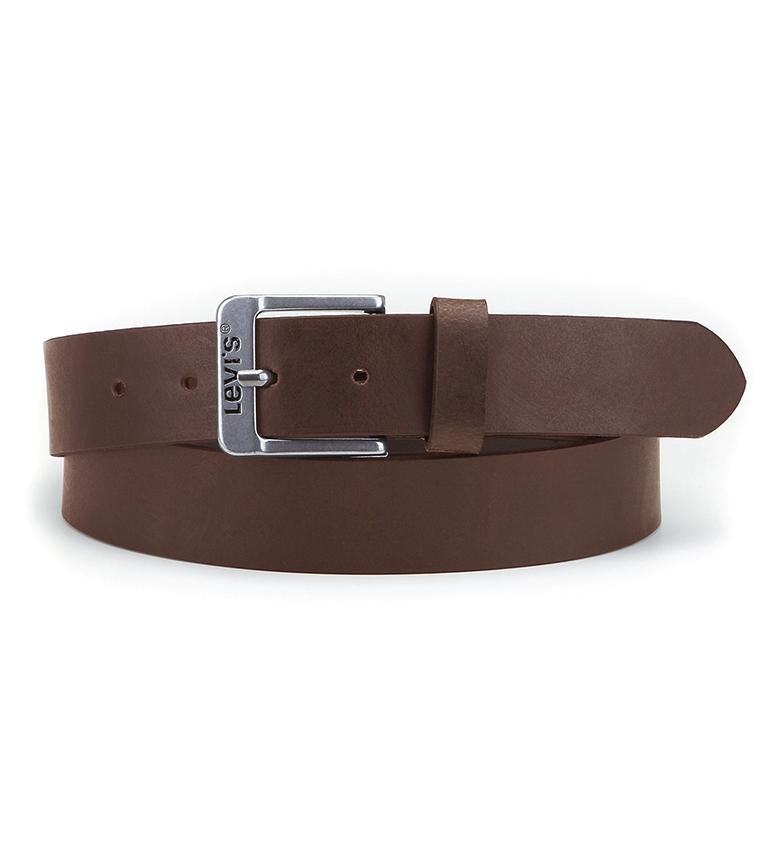 Levi's Cintura in pelle marrone gratis