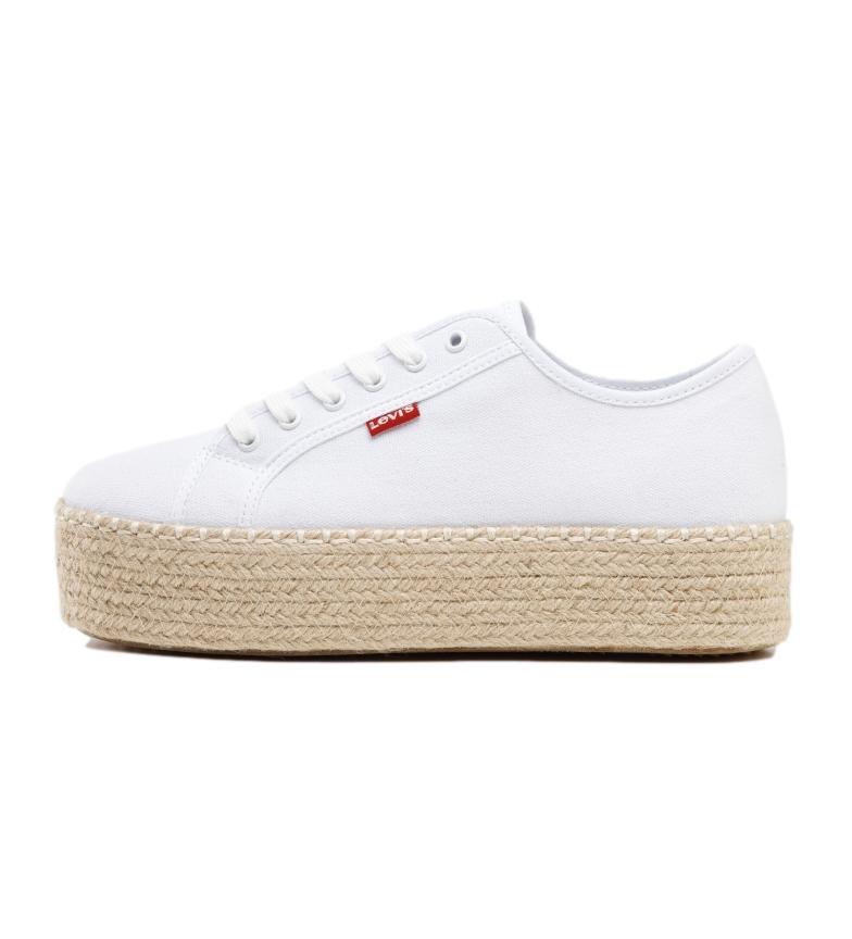 Comprar Levi's Zapatillas Lavic blanco -Altura plataforma: 5 cm-