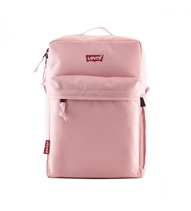 Levi's Sac à dos L-Pack Standard Issue rose -41x26x13cm