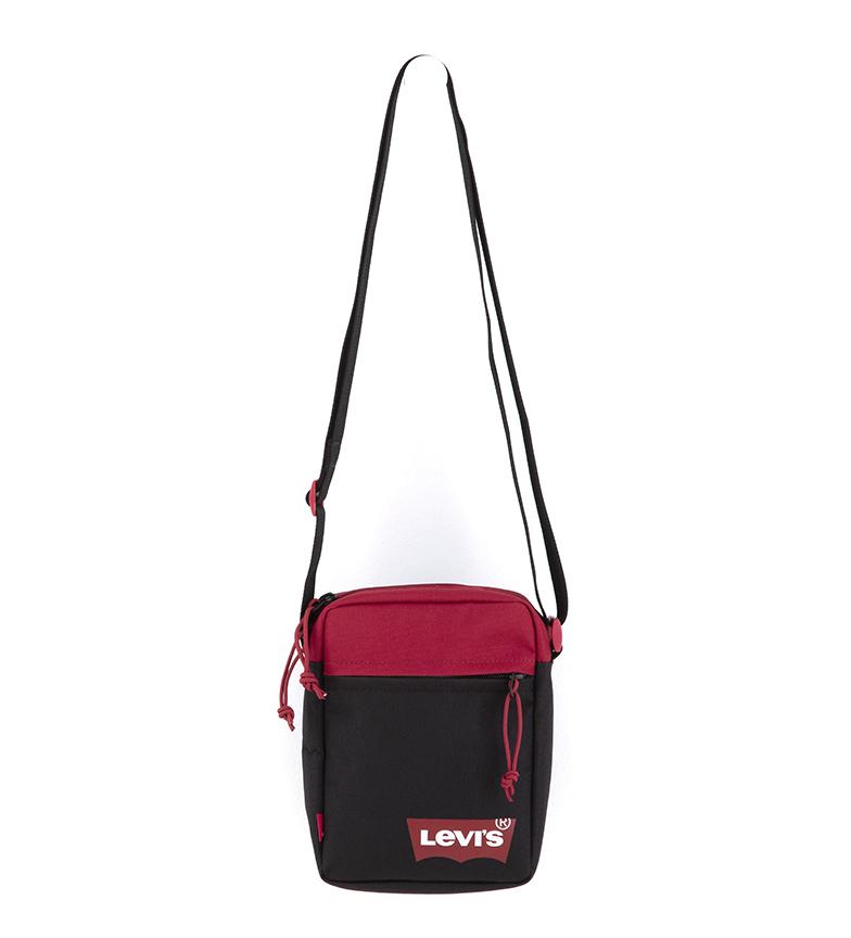 Levi's Mini Saco de Ombro Vermelho Batwing Mini Sólido Vermelho -15,5x5,5x21cm
