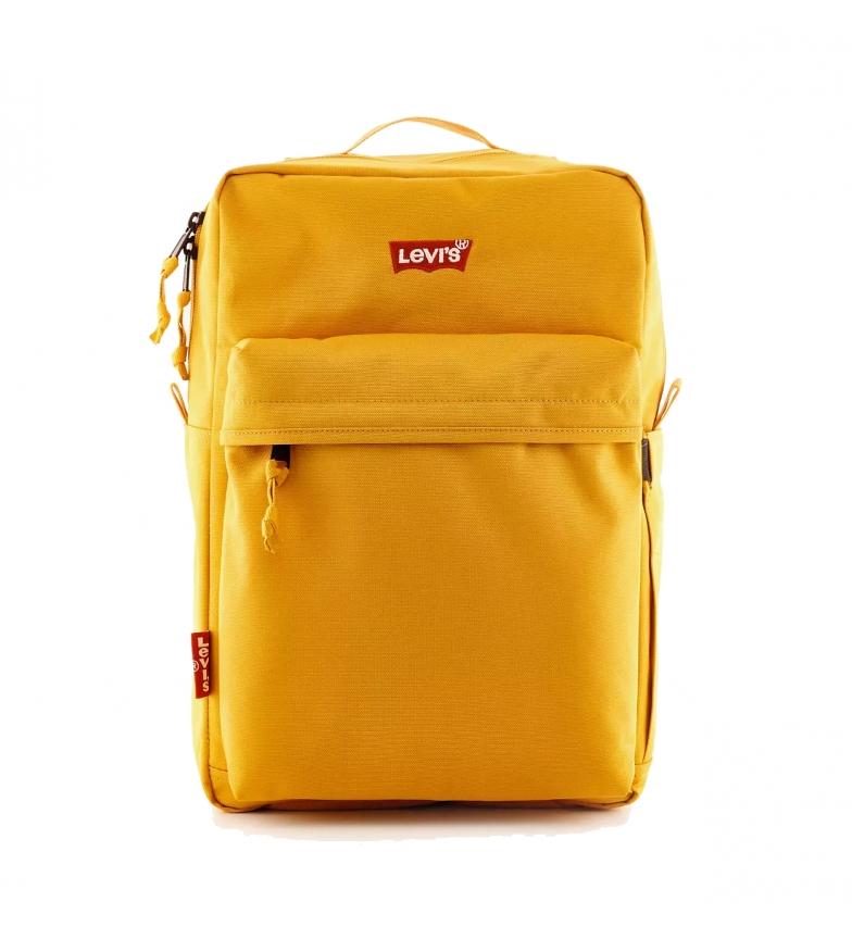Levi's Sac à dos L-Pack Standard Issue jaune -41x26x13cm