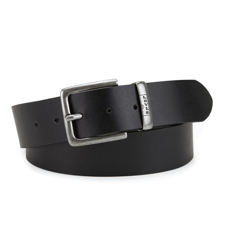 Comprar Levi's Cinturón de piel New Albert  negro