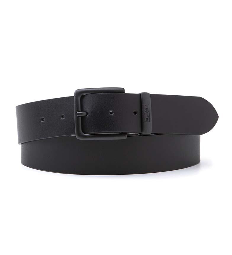 Comprar Levi's New Albert Leather Belt Metal Black