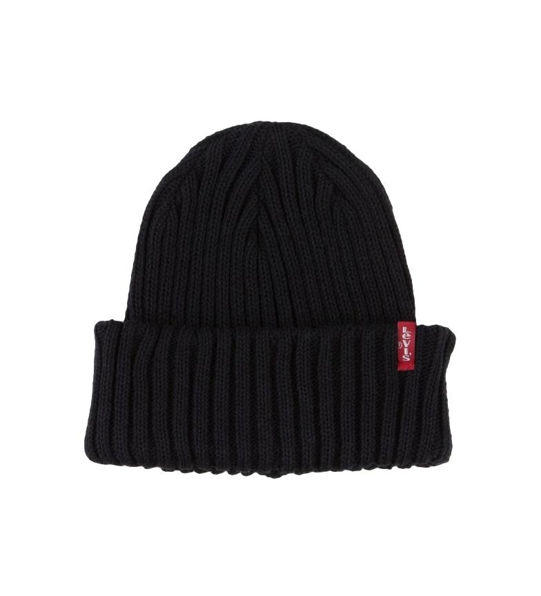 Comprar Levi's Cappello Beanie a coste nero