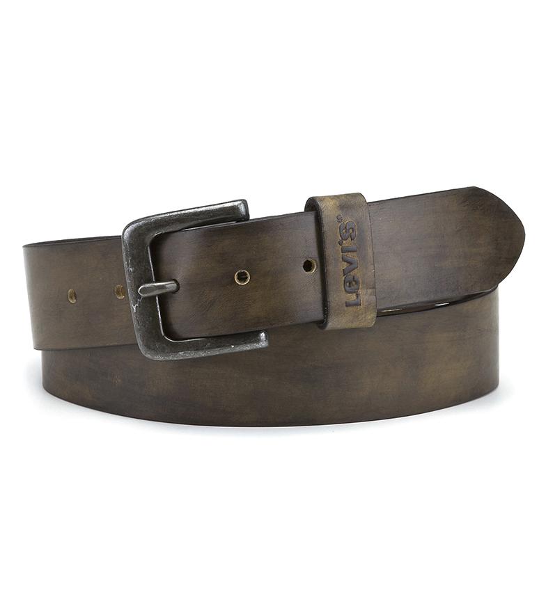 Comprar Levi's Cintura in pelle marrone Stinson