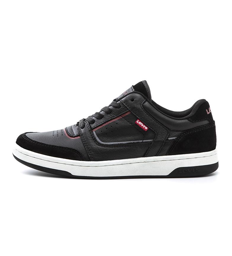 Comprar Levi's Wishon sapatos de couro preto
