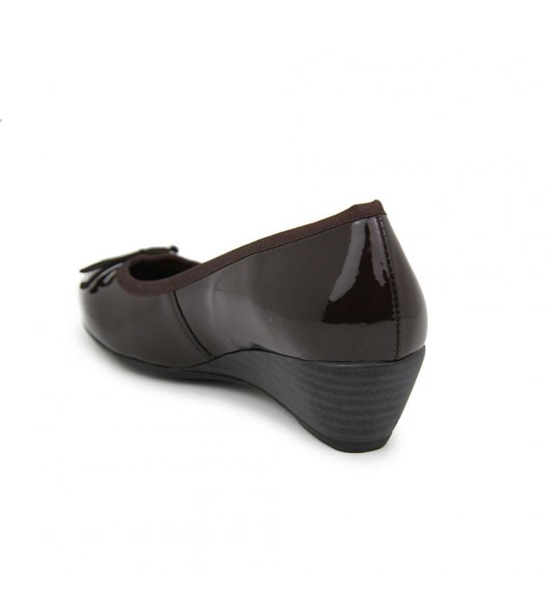 Bailarinas Minicua Chocolate Charol Liberitae En 0OX8Pnkw