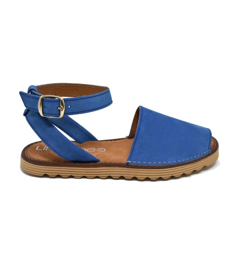 Comprar Liberitae Menorquina Leather Bracelet Blue