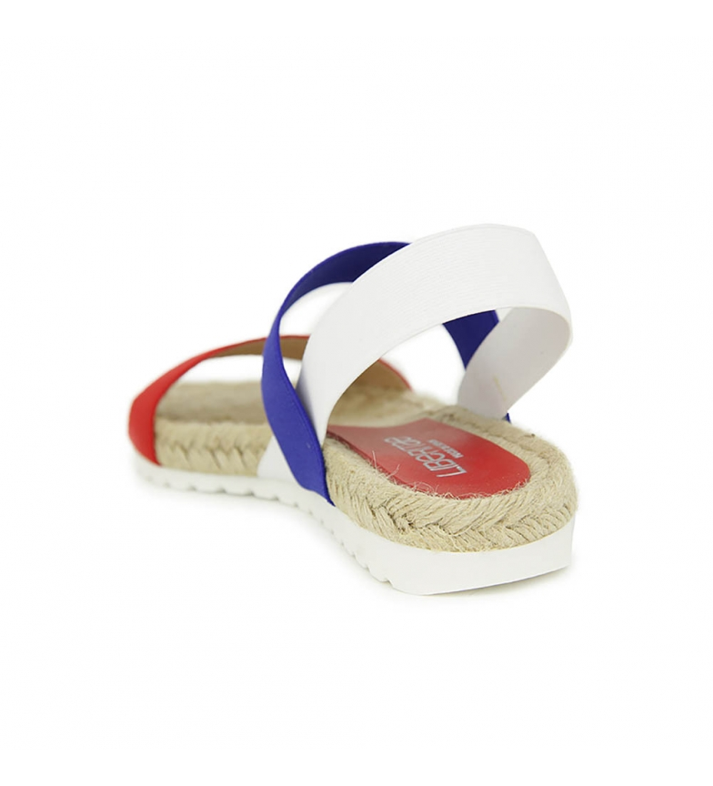 Multicolor En y Liberitae Sandalia plana Liberitae Textil elasticos Sandalia plana T0Bz7qWxfT