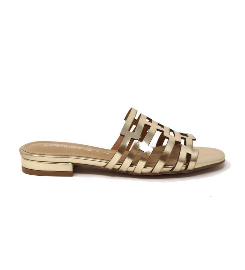 Comprar Liberitae Ouro Metálico Low Sandal